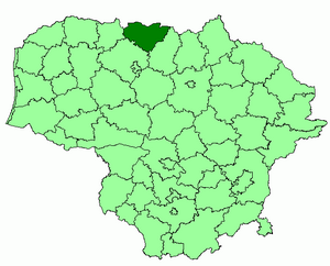 Joniskis district location.png