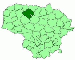 Siauliai district location.png
